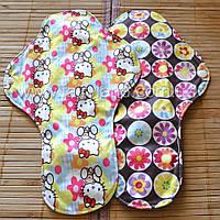 Многоразовые гигиенические прокладки SUPER NIGHT + подарки, фото 1