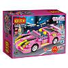 Конструктор 256 элементов автомобиль Розовый родстер - серия Dream Girls лего - модель 14506 COGO, фото 2