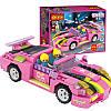 Конструктор 256 элементов автомобиль Розовый родстер - серия Dream Girls лего - модель 14506 COGO, фото 3