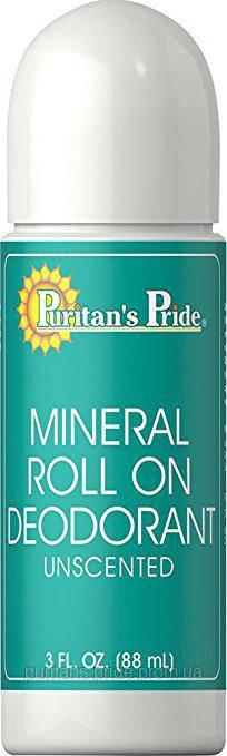 Puritan's Pride Mineral Roll On Deodorant 88 ml
