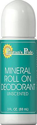 Puritan's Pride Mineral Roll On Deodorant 88 ml, фото 2