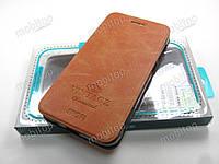 Кожаный чехол книжка MOFI Vintage Xiaomi Redmi 5A (коричневый), фото 1