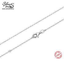 Серебряная цепочка 45 см