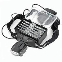 Бинокулярные очки №9892С с LED подсветкой, увеличение:1Х 1,5Х 2Х 2,5Х 3,5Х