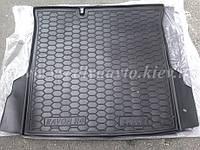 Коврик в багажник DAEWOO Ravon R4 (Avto-Gumm) пластик+резина