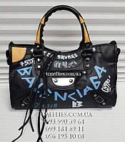 Кожаная сумка Balenciaga №1