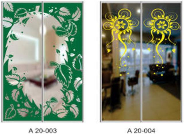 Шкаф-купе Артмебель снятие амальгамы для рисунка, фото 5