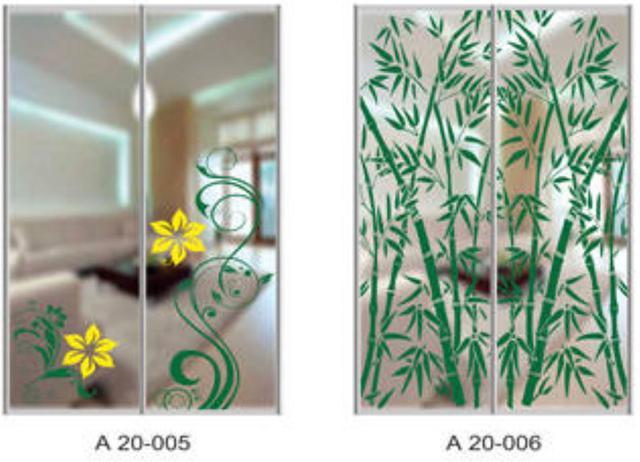 Шкаф-купе Артмебель снятие амальгамы для рисунка, фото 6