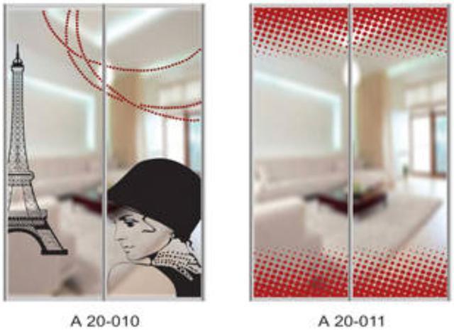 Шкаф-купе Артмебель снятие амальгамы для рисунка, фото 9