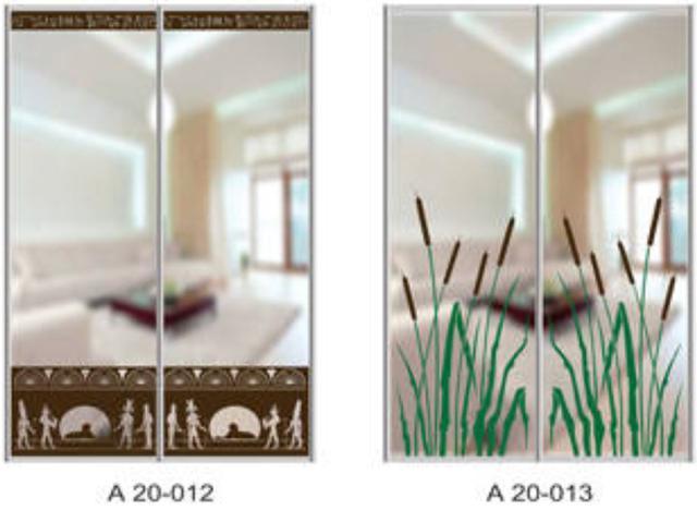 Шкаф-купе Артмебель снятие амальгамы для рисунка, фото 10