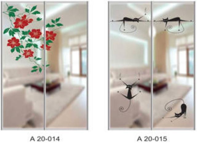 Шкаф-купе Артмебель снятие амальгамы для рисунка, фото 11