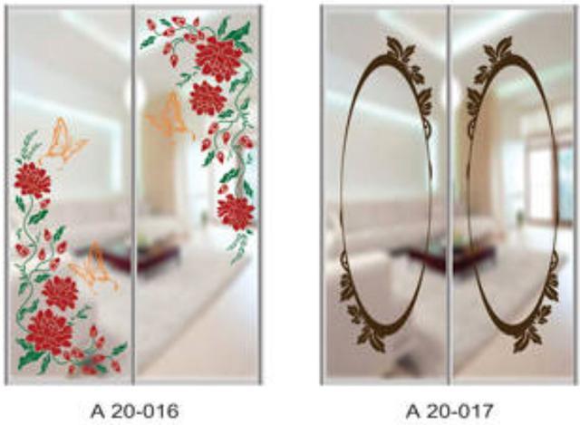 Шкаф-купе Артмебель снятие амальгамы для рисунка, фото 12