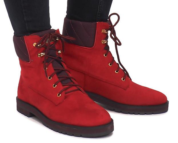 Женские ботинки Sane red