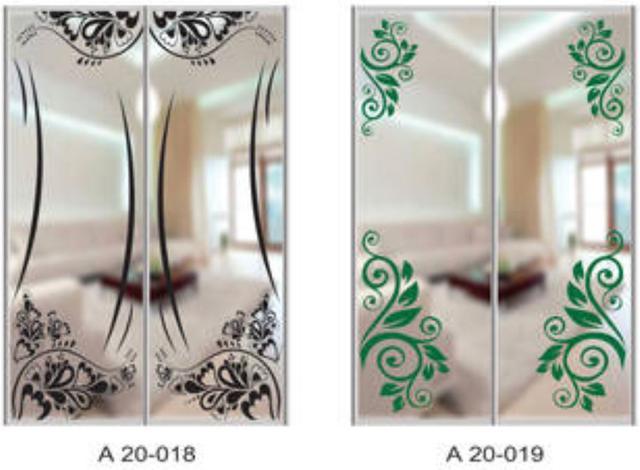 Шкаф-купе Артмебель снятие амальгамы для рисунка, фото 13