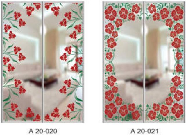 Шкаф-купе Артмебель снятие амальгамы для рисунка, фото 14