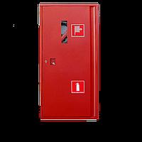 Шкаф пожарный навесной 1200х600х230 для пожарного рукава и огнетушителя