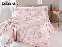 Постельное белье сатин First Choice (евро-размер) № Dolaris Violet, фото 1