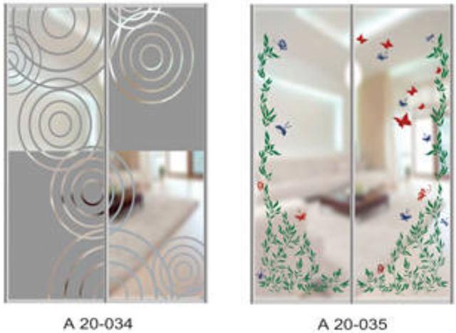Шкаф-купе Артмебель снятие амальгамы для рисунка, фото 21