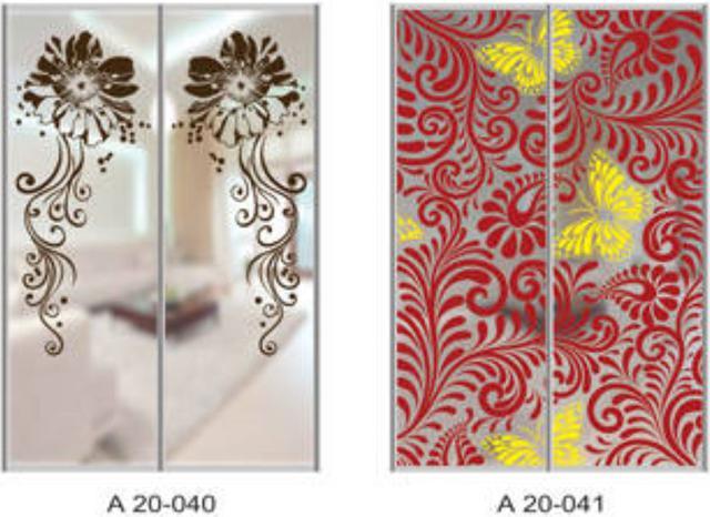 Шкаф-купе Артмебель снятие амальгамы для рисунка, фото 24