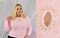 Женский свитер ангора-мохер (разные цвета)