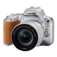 Цифровой фотоаппарат Canon EOS 200D 18-55 IS STM Silver Kit (2256C006)