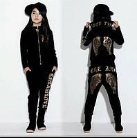 Модный спортивный костюм   для девочки 110-146