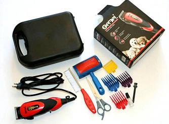 Профессиональная машинка для стрижки животных (собак и кошек) Gemei GM-1023