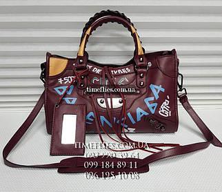 Кожаная сумка Balenciaga №3