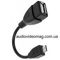 Кабель - переходник OTG USB на micro USB для планшета, смартфона