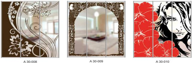 Шкаф-купе Артмебель снятие амальгамы для рисунка, фото 37