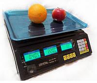Весы торговые электронные Crystal до 50 кг