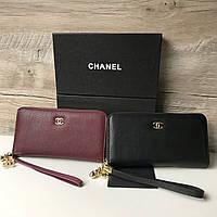 Женская кожаная сумка клатч Chanel Шанель