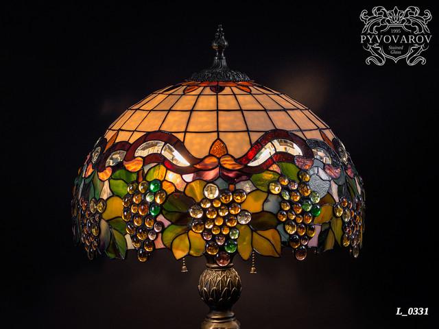 Лампа Тиффани виноград