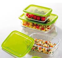 Набор пищевых контейнеров с крышкой Luminarc KEEP'N' 2+1 шт. N6238