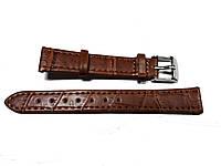 Ремешок для часов Toscana 14 мм структурный коричневый