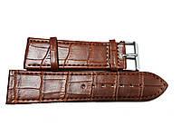 Ремешок для часов Toscana структурный 24мм коричневый