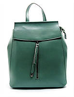 Женский рюкзак GАLАNTY зеленого цвета из натуральной кожи EEW-048101, фото 1