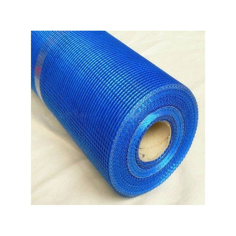 Сітка скловолокно Ансерглоб  синя (1*50 м) 5*5   165  г/м.кв.