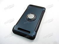 Противоударный чехол с кольцом Xiaomi Redmi 4A (темно-синий), фото 1