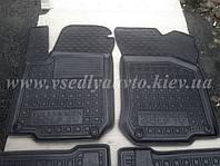 Передние коврики в салон для Volkswagen Golf 4 (Avto-gumm)