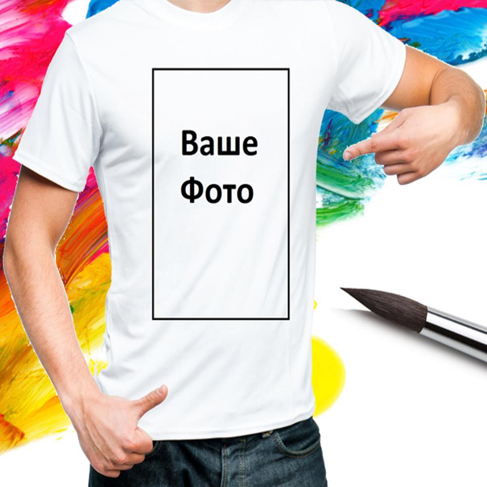 Цифровая,прямая печать на футболках от 1 шт.