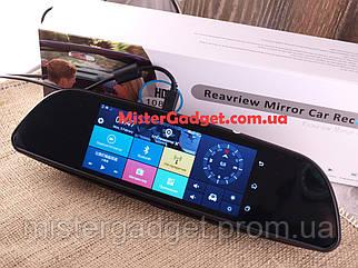 7в1 Зеркало+GPS+Android+Видеорегистратор+3G K35