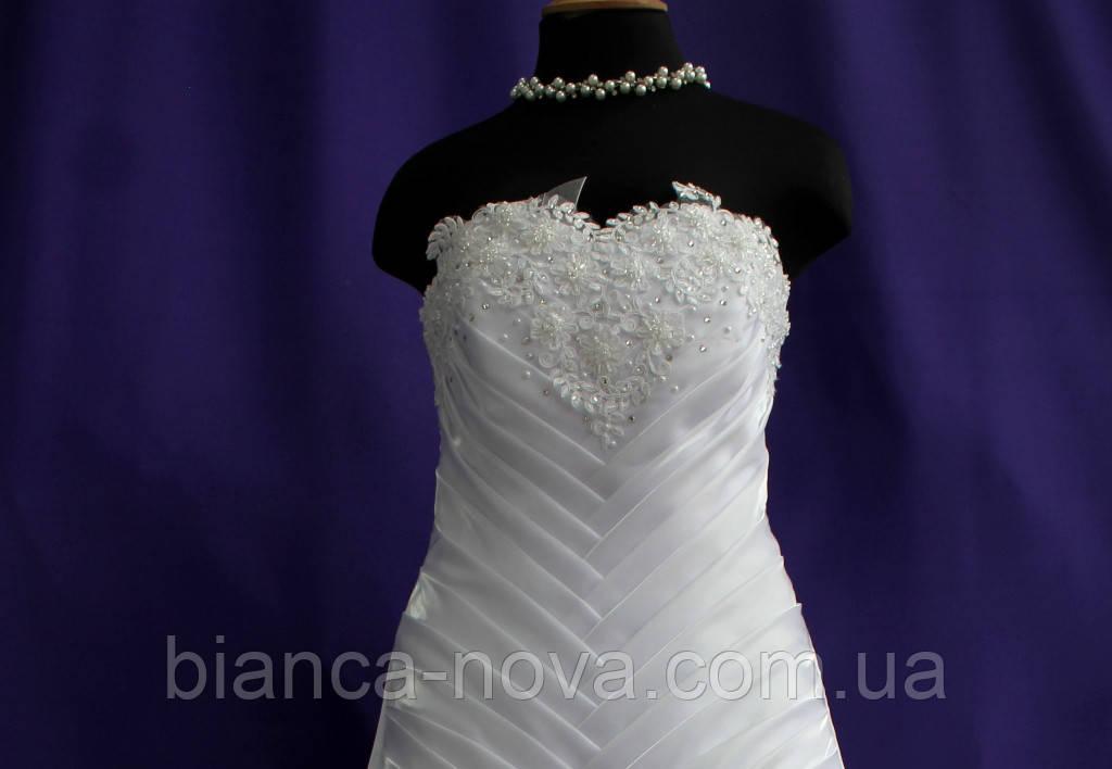 """Свадебное платье """"Грани"""""""