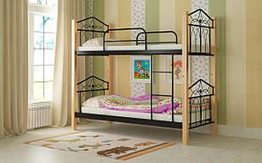 Двухъярусная кровать Тиара. Мадера
