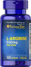 L- Аргинин Puritan's Pride L-Arginine 500 mg 100 Capsules