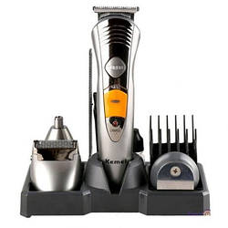 Бритва электрическая триммер MP-5580 7in1, триммер для носа и ушей, других чувствительных зонах