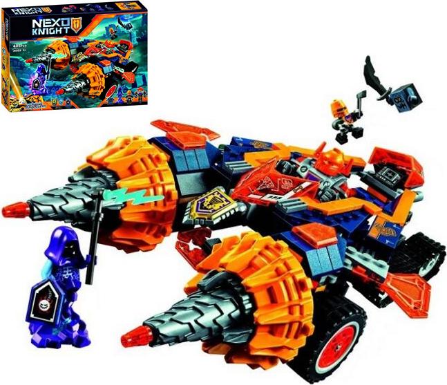 Конструктор Bela 10703 Нексо Найтс Бур-машина Акселя (аналог Lego Nexo Knights 70354)
