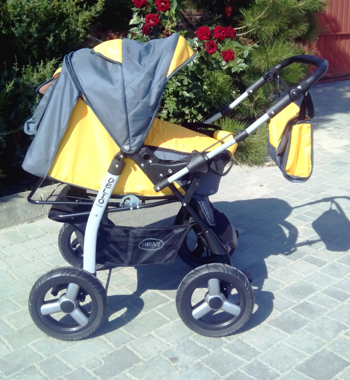 Фото обзор универсальной детской коляски Anmar Delio 2 в 1