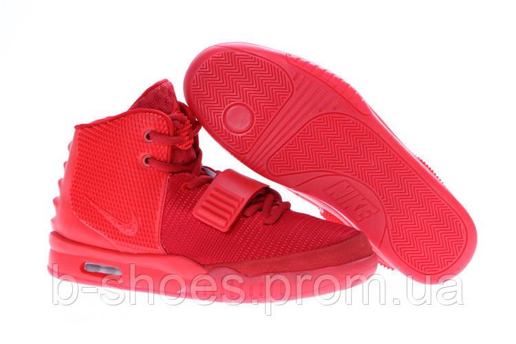 Мужские кроссовки Nike Air Yeezy 2 (Red)