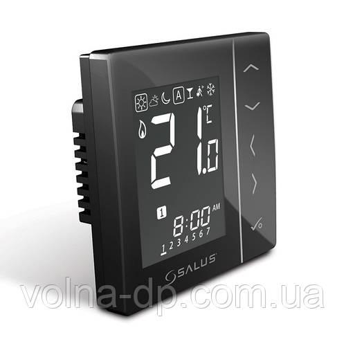 VS10B Программируемый комнатный термостат 4 в 1 (черный)